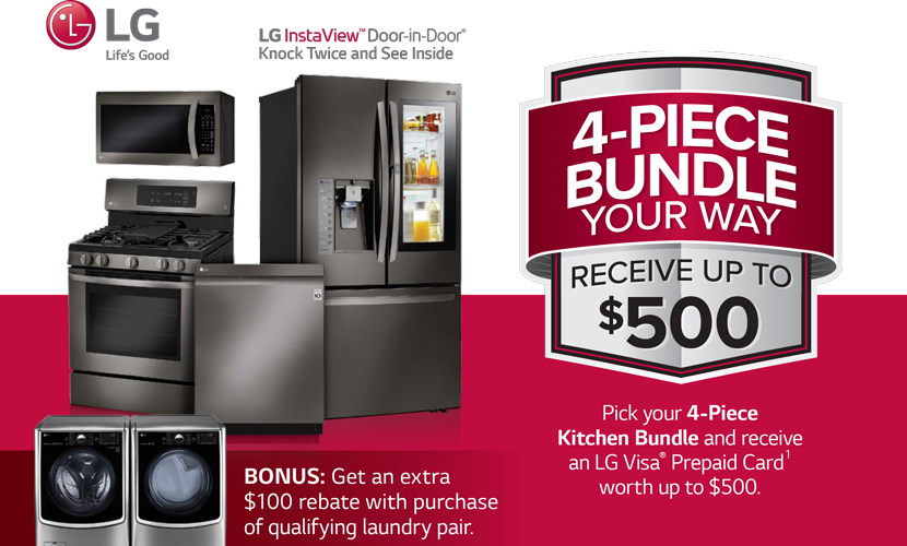Lg  Kitchen Appliances  Rebate
