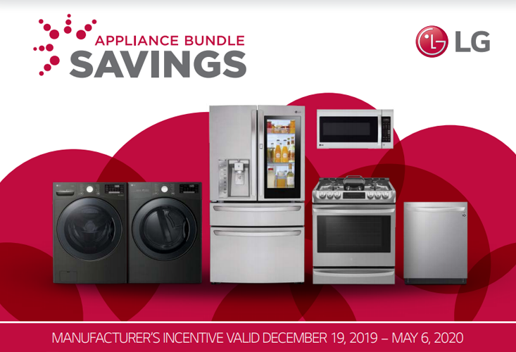 2020 LG Appliance Bundle Offer (Dec 19 to May 6)